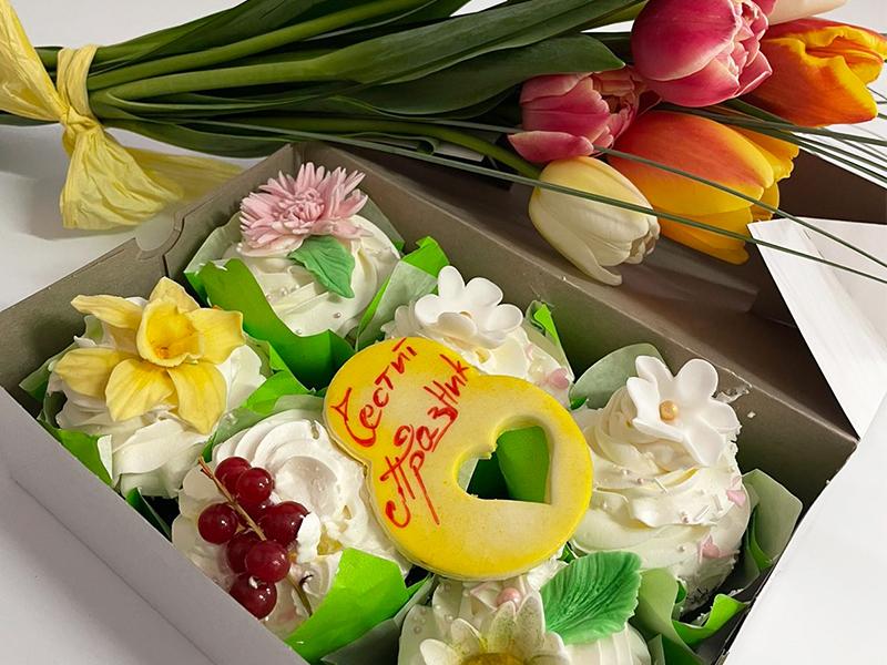 Шоколадови мъфини Пролет